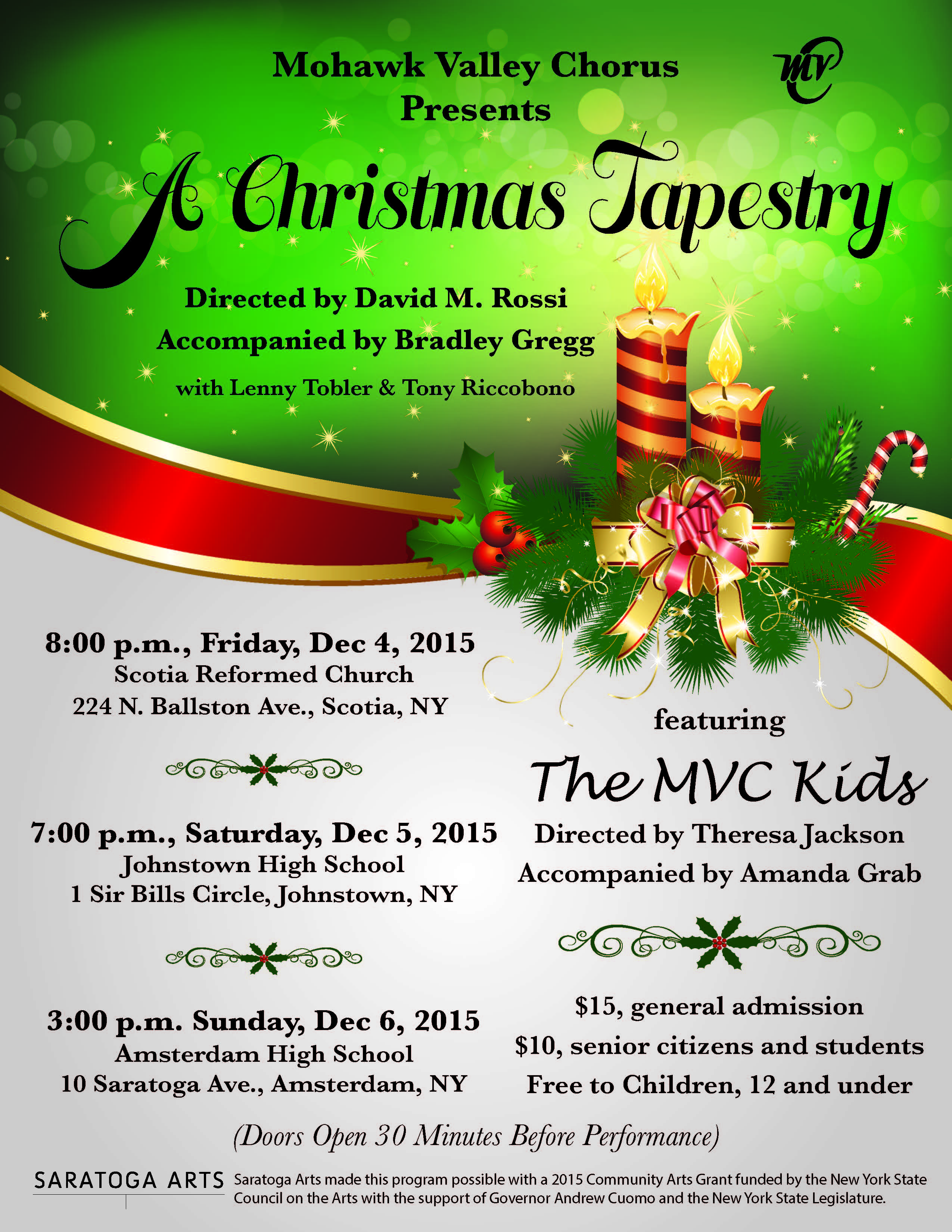 a christmas tapestry not only opens the mohawk valley chorus holiday season but also its 80th anniversary year celebration and a big musical holiday - Childrens Christmas Musicals For Church